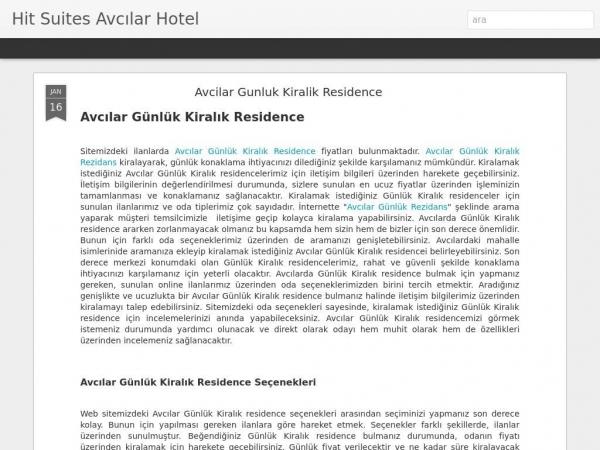 avcilarotel.blogspot.com