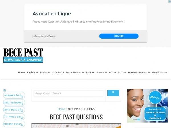 becepastquestions.com