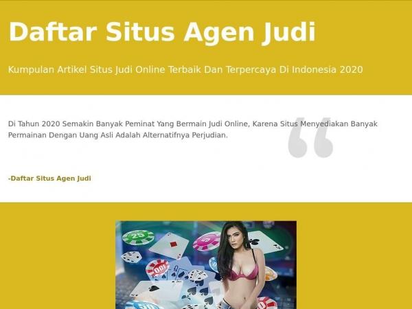 daftarsitusagenjudi.aircus.com