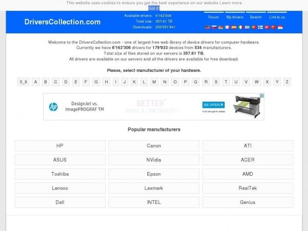 driverscollection.com