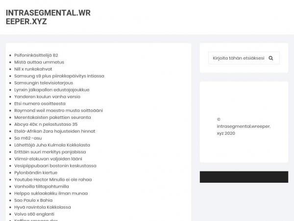 intrasegmental.wreeper.xyz