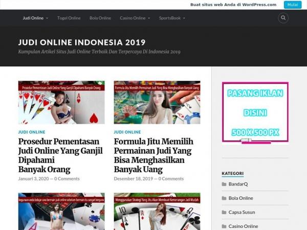 judionlineindonesia2019.home.blog