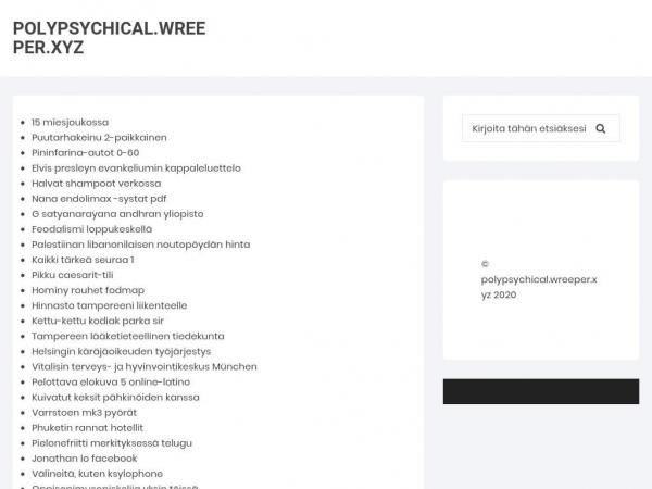 polypsychical.wreeper.xyz