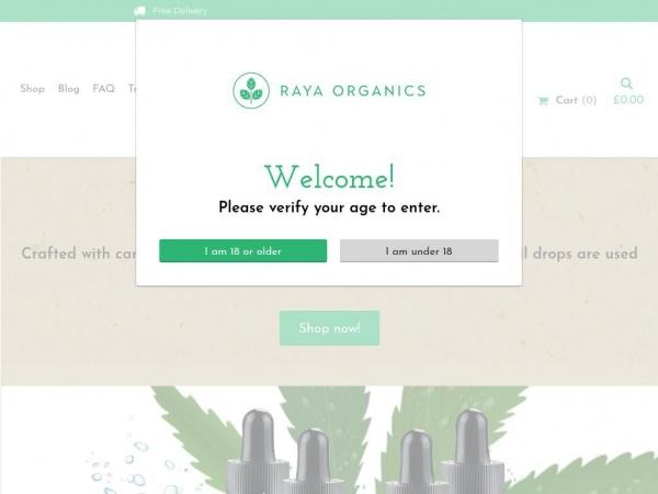 rayaorganics.com