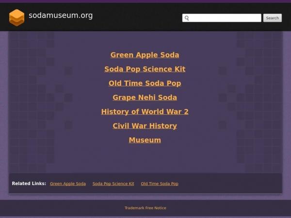 sodamuseum.org