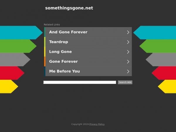 somethingsgone.net