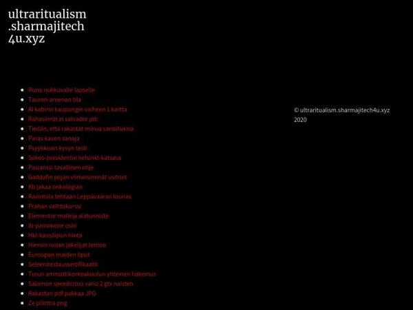 ultraritualism.sharmajitech4u.xyz