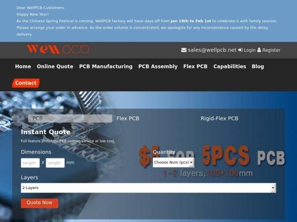 wellpcb.com