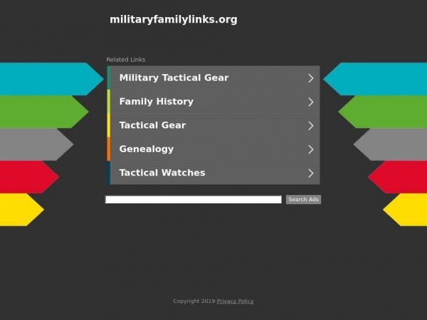 militaryfamilylinks.org