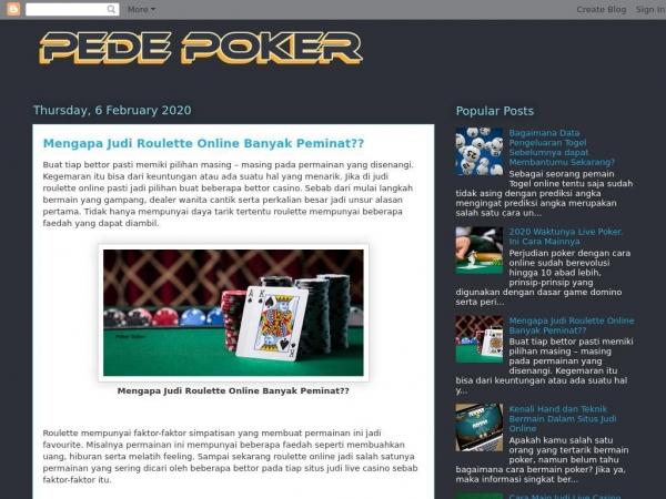 pedepoker.blogspot.com